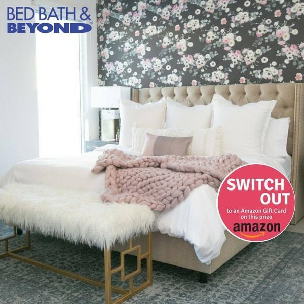 Win a $50 Bed, Bath & Beyond or Amazon Gift Card